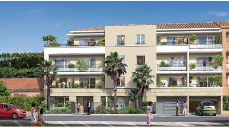 Appartement neuf Riviera investissement loi Pinel à Théoule-sur-Mer