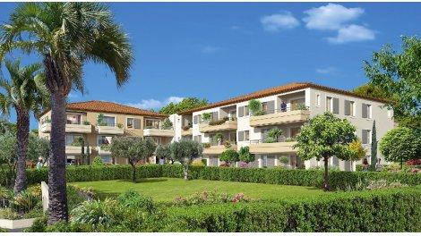 Appartements et maisons neuves La Villa Loti investissement loi Pinel à Juan-les-Pins