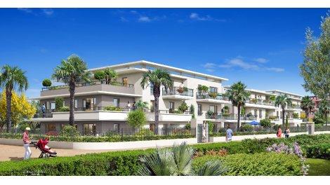 Appartements et maisons neuves Clos Azur investissement loi Pinel à Cagnes-sur-Mer