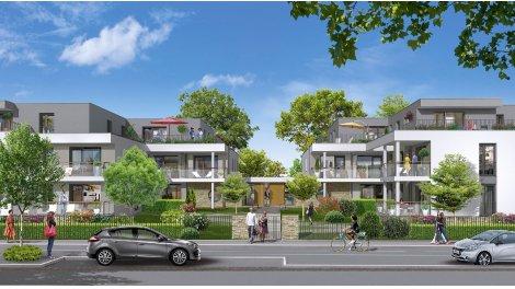 Appartement neuf La Robertsau investissement loi Pinel à Strasbourg