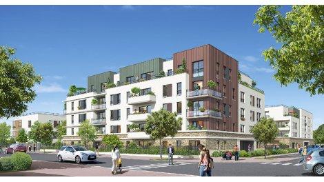 Appartement neuf Terrasses et Jardin investissement loi Pinel à Montévrain