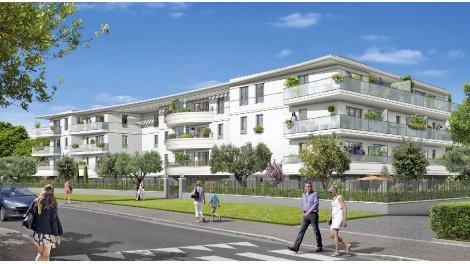 Appartement neuf L'Orée du Parc investissement loi Pinel à Villeneuve-Loubet