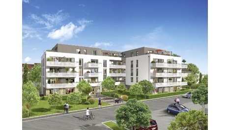 Appartements et maisons neuves Villa Bel-Air à Eckbolsheim