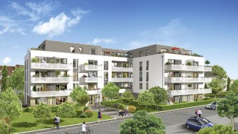 Appartements et maisons neuves Villa Bel-Air investissement loi Pinel à Eckbolsheim