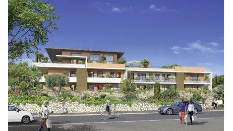 Appartements et maisons neuves Le Clos des Orangers investissement loi Pinel à Villeneuve-Loubet