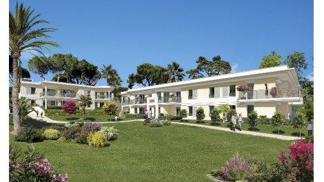 Appartements et maisons neuves La Villa Bleue à Golfe-Juan