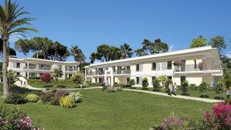 Appartements et maisons neuves La Villa Bleue investissement loi Pinel à Golfe-Juan