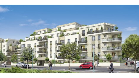 Appartements et maisons neuves Le Clos du Poète investissement loi Pinel à Romainville