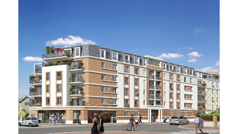 Appartements et maisons neuves Art Déco à Tremblay-en-France