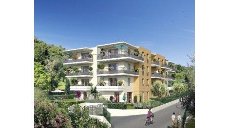 Appartements et maisons neuves Villa Flora investissement loi Pinel à Nice