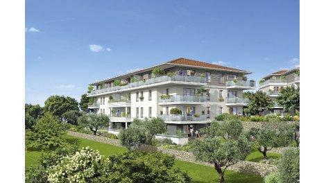 Appartements et maisons neuves Le Parc investissement loi Pinel à Grasse