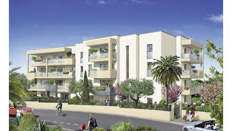 Appartements et maisons neuves Bleu Azur à Antibes