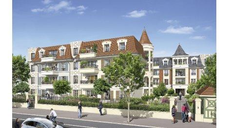 Appartements et maisons neuves Le Jardin des Tourelles investissement loi Pinel à Vaujours