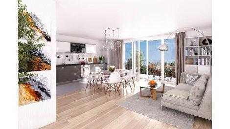 Appartement neuf Villa Sofia investissement loi Pinel à Issy-les-Moulineaux