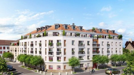 Appartement neuf Residence Victor Hugo investissement loi Pinel à Poissy
