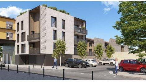 Appartement neuf Faubourg Chartrons éco-habitat à Bordeaux