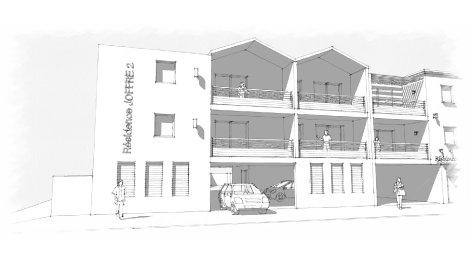 Appartement neuf Joffre 2 à La Rochelle