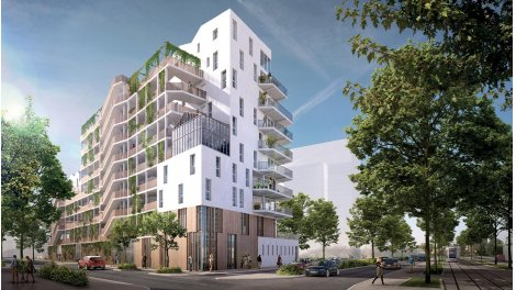 Appartement neuf Neo Verde éco-habitat à Nantes