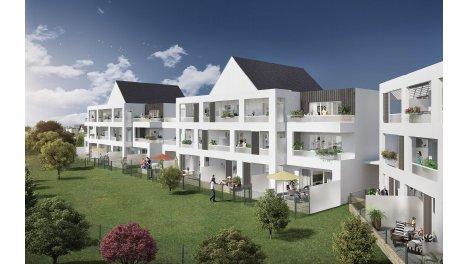 Appartement neuf Passage Saint-Clément éco-habitat à Quiberon
