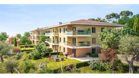 Appartement neuf Le Parc de l'Oliveraie à Grasse