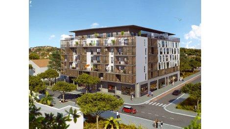 Appartement neuf Espace Riviera investissement loi Pinel à Nice