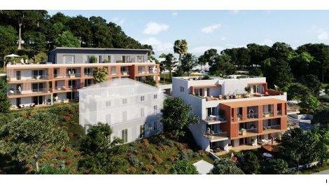 Appartement neuf Azur et Sens éco-habitat à Nice