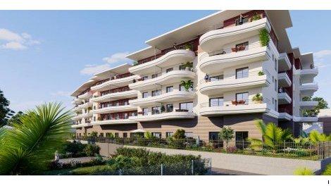Appartement neuf Felicity investissement loi Pinel à Cagnes-sur-Mer