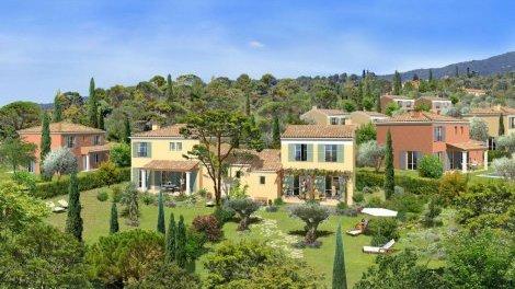 Maisons neuves Les Villas du Parc de l'Oliveraie investissement loi Pinel à Grasse