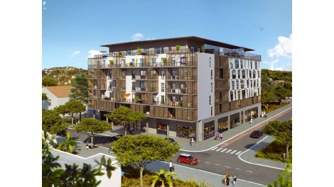 Appartement neuf Espace Riviera éco-habitat à Nice