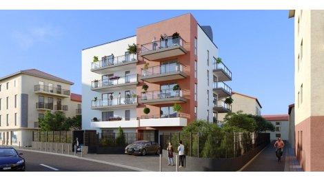 Appartement neuf Oceanice éco-habitat à Nice