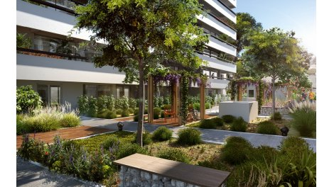 Appartement neuf Roof Garden investissement loi Pinel à Marseille 4ème
