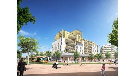 Appartement neuf Eden Roch éco-habitat à Montpellier