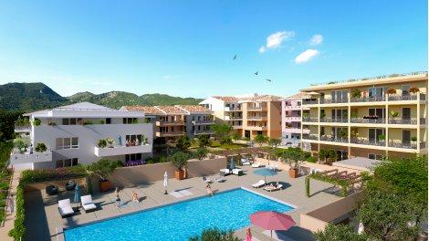 Appartement neuf Coeur de Village investissement loi Pinel à Saint-Martin-du-Var