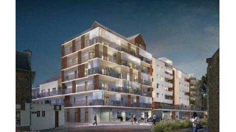 Appartement neuf Canephora éco-habitat à Saint-Malo