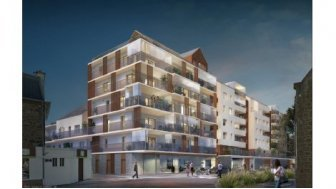 Appartements neufs Canephora éco-habitat à Saint-Malo