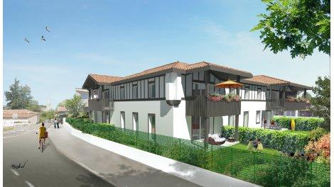 Appartement neuf Residence Ameztia éco-habitat à Soustons