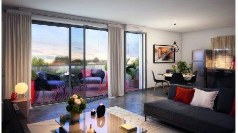 Appartement neuf Bleu & Royal investissement loi Pinel à Toulouse