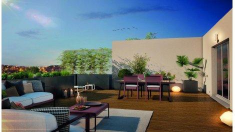 Appartement neuf Coté Vue investissement loi Pinel à Toulouse