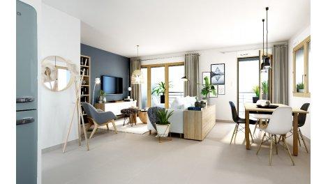 Appartement neuf Le Minéral investissement loi Pinel à Grenoble