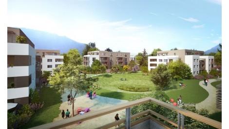 Appartement neuf Le Mas des Lys investissement loi Pinel à Saint-Egrève