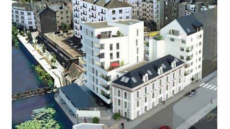 Appartement neuf Les Rives Saint-Helier investissement loi Pinel à Rennes