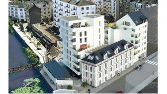 Appartements neufs Les Rives Saint-Helier éco-habitat à Rennes