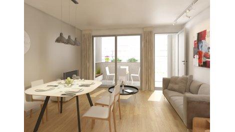 Appartements neufs Carre Atlanta investissement loi Pinel à Nantes