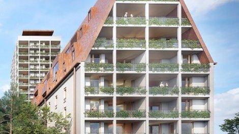 Appartement neuf L'Entre2rives investissement loi Pinel à Strasbourg
