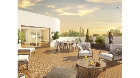 Appartements et maisons neuves Imagin éco-habitat à Bruges