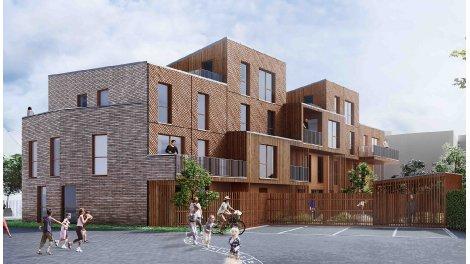 Appartements neufs Résidence Solstice à Lille investissement loi Pinel à Lille