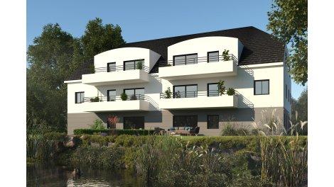 Appartement neuf Les Terrasses de la Zorn investissement loi Pinel à Brumath
