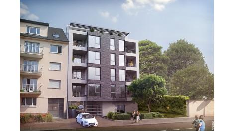 Appartements neufs La Résidence Hadrien investissement loi Pinel à Strasbourg