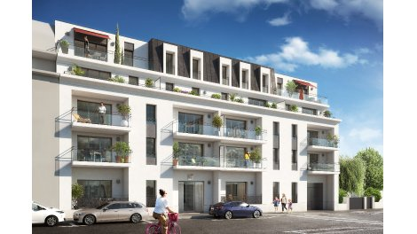 Appartement neuf Le Kléber éco-habitat à Caen