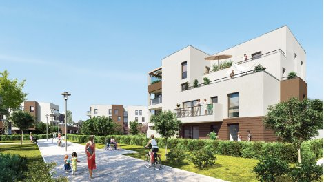 Appartement neuf Gabrielle d'Estrées investissement loi Pinel à Chartres